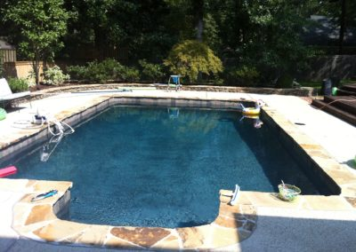 Tuckahoe Pool Remodel and Hardscape